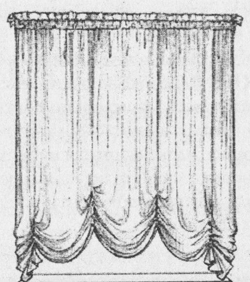 Австрийская штора