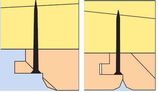 шляпки крепежных элементов видны на лицевой поверхности вагонки