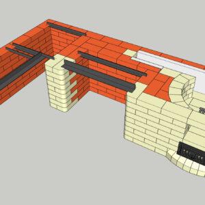 Порядовка проект мангала с казаном