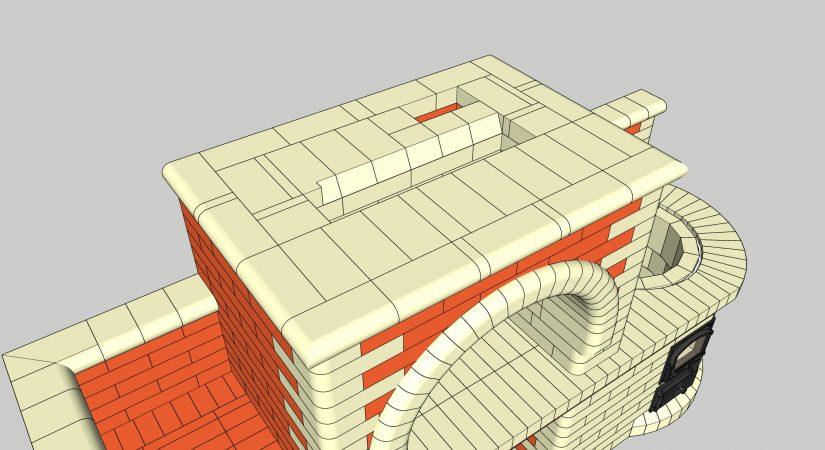 Проект мангала с казаном 3D SketchUp в формате .skb