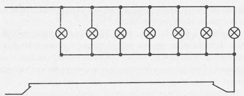 Схема включения освещения с двух мест