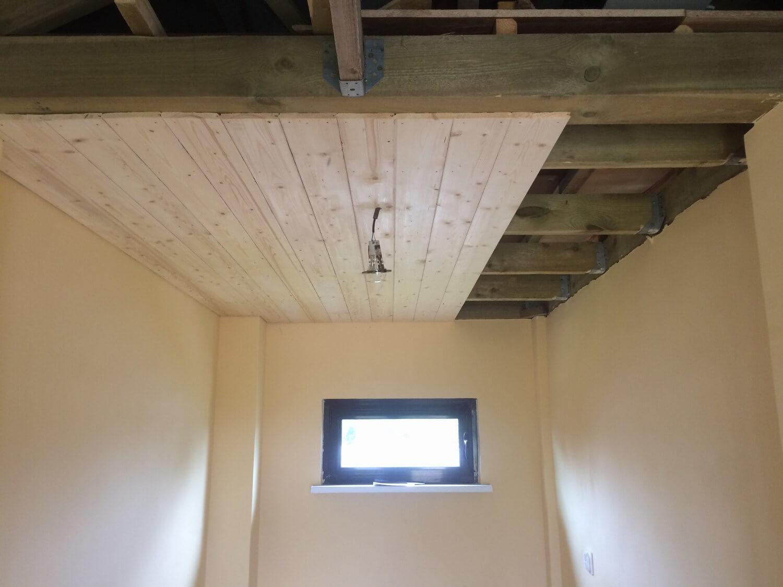 подшивка потолка имитацией бруса