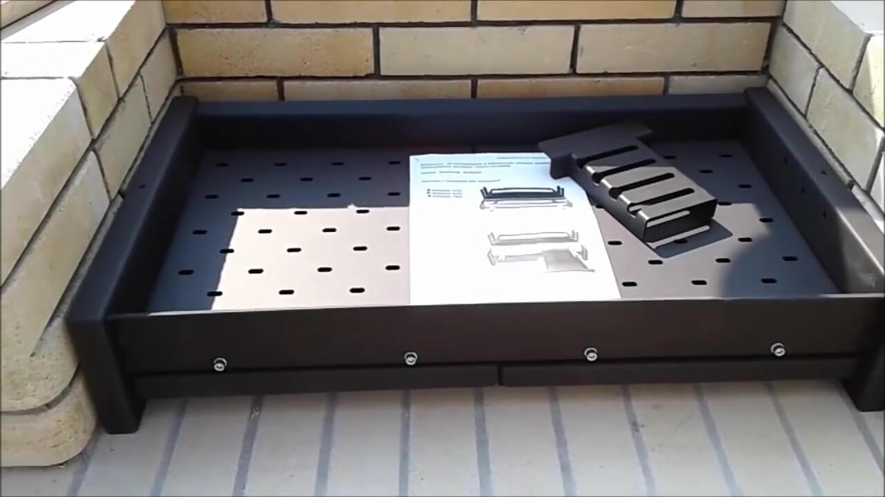 Мангал с жаровней и зольными ящиками, модель Инбрик 765 AIR