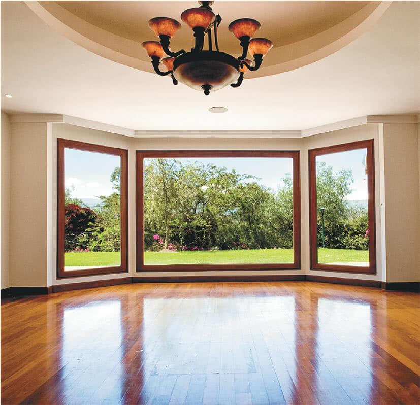Потолок в красивом доме