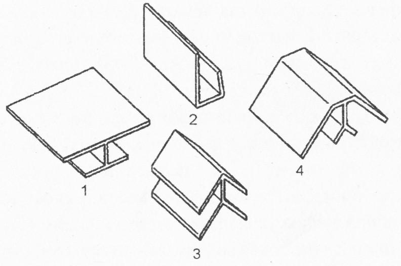Комплектующие детали для облицовки пластиковыми панелями